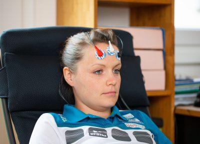 Simone Steiner, 7fache Weltmeisterin im Eisstocksport